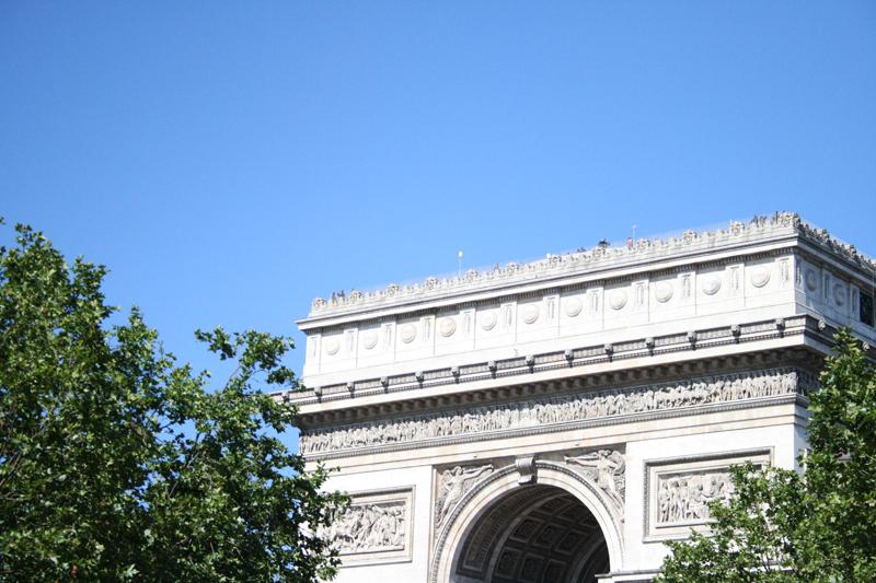 Arco do Triunfo | Paris (comemoração de 14 de julho - 2008)