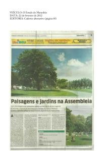 Paisagens e jardins na Assembleia | O Estado do Maranhão