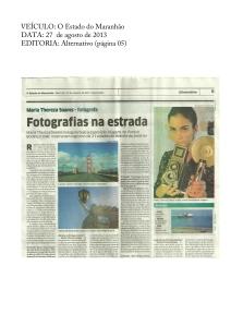 Fotografia na estrada | O Estado do Maranhão