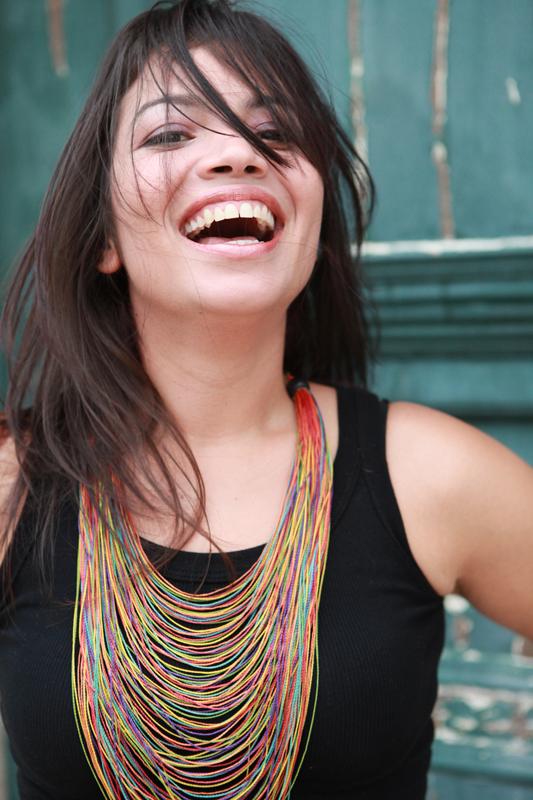 Flávia Bittencourt no Centro Histórico de São Luís