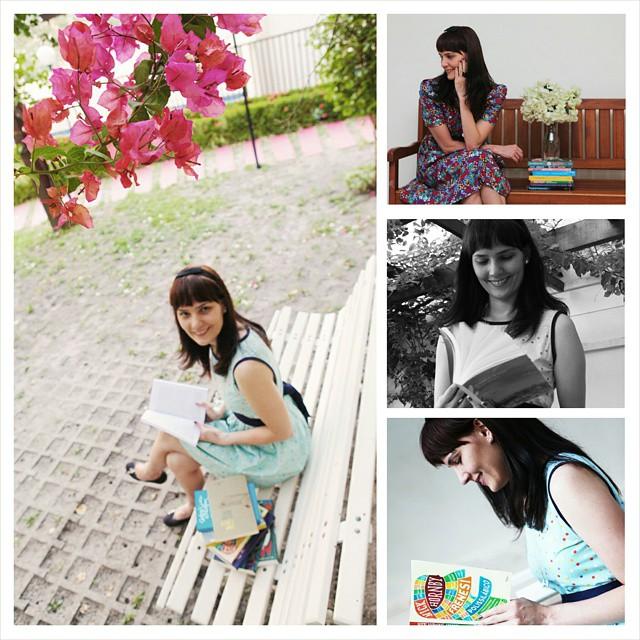 Montagem que a Tássia fez com as fotos