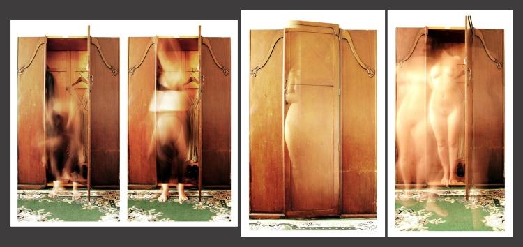 Série Nos templos do Armário, de Luiza Burlamaqui (2009)